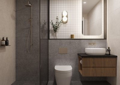 Bathroom Dark Scheme